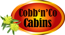 Cobb n Co Cabins Sticky Logo